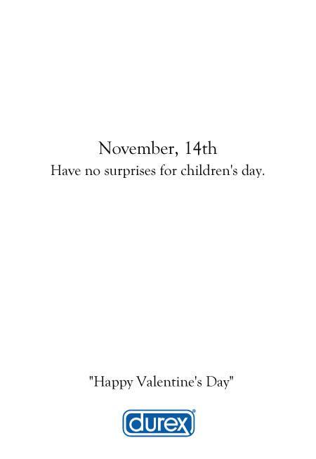 durex valentine's day ad