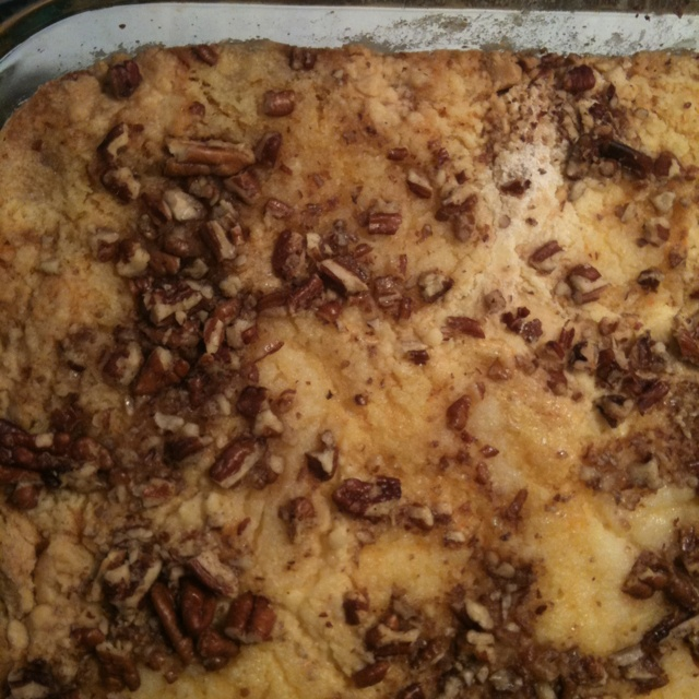Pumpkin dump cake | Man, I wished I thought of that!!! | Pinterest