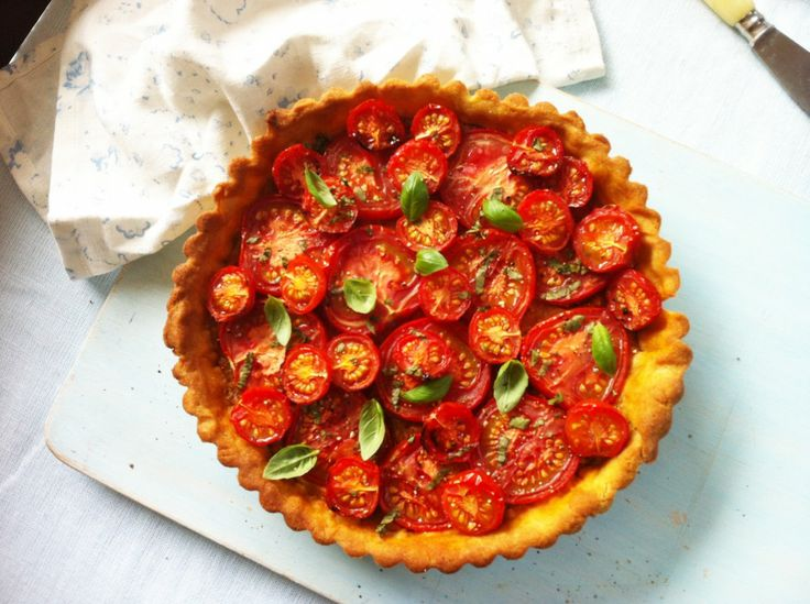 Gluten Free Tomato Tart from Simply Gluten-Free & Dairy-Free by Grace ...