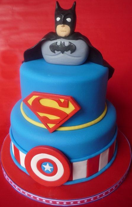 My Super Hero Cake! - by Cakery Creation in Daytona Beach
