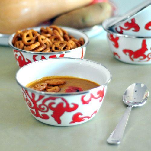 chipotle butternut soup | Light Veggie Soups, Salads & Sandwiches | P ...