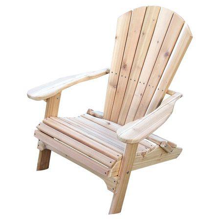 Bisco Folding Adirondack Chair Garden