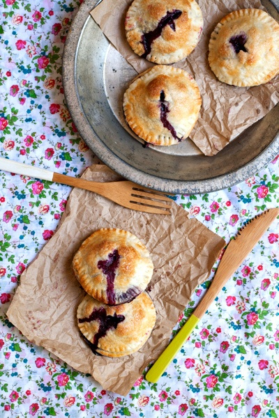 blueberry hand pies w/ goat cheese cream | Flickr - Photo Sharing!