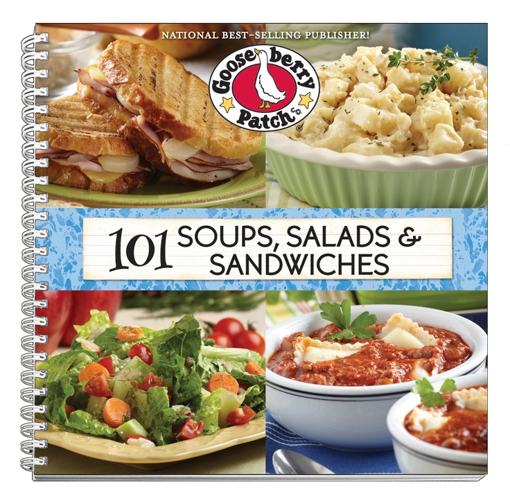 101 Soups, Salads & Sandwiches Cookbook, now available as an eBook for your Kindle, Nook, Apple, Kobo & Sony devices.
