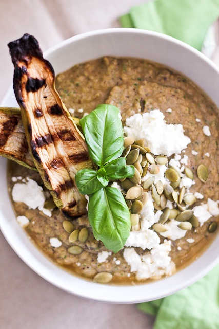 Cold Grilled Vegetable Soup | Recipe
