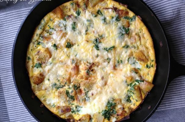 Egg & Potato Frittata | The #frittata is a perfect 'anytime' item ...