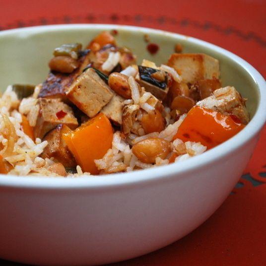 Kung Pao Tofu | Dinner Stuff | Pinterest