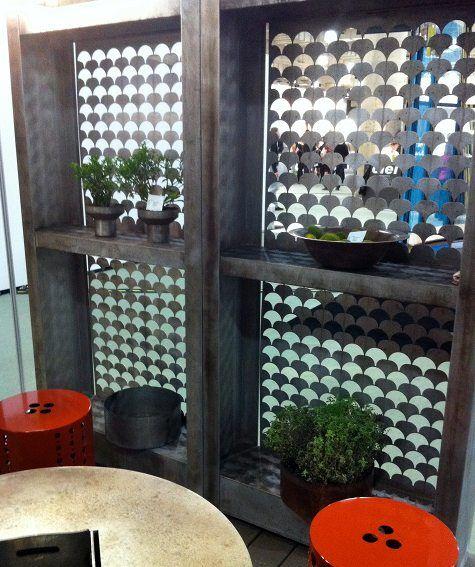 patterned outdoor wall divider room divider pinterest