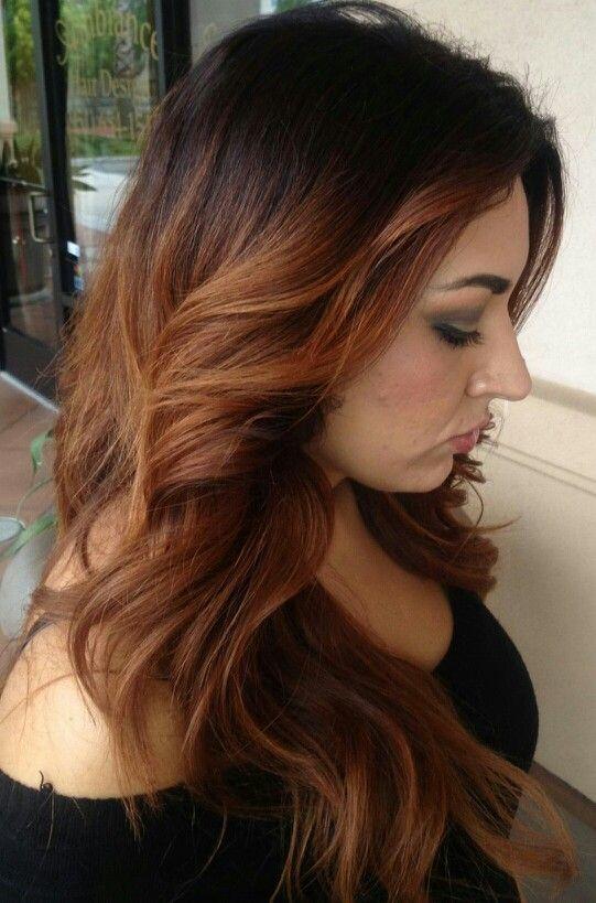 fall hair color fashion pinterest