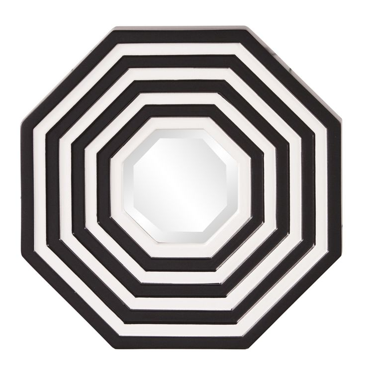 Howard Elliott Othello Octagonal Mirror - 92047