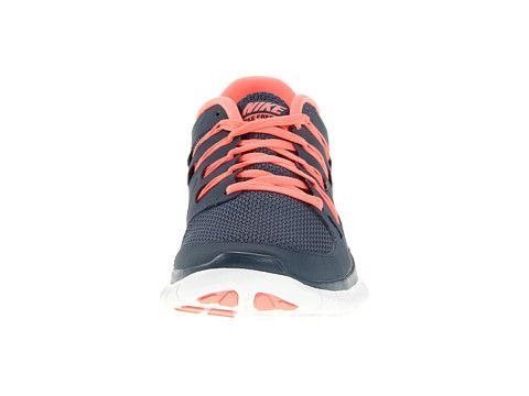 Nike Free 5.0 Womens Navy Blue Total Orange that cost 54