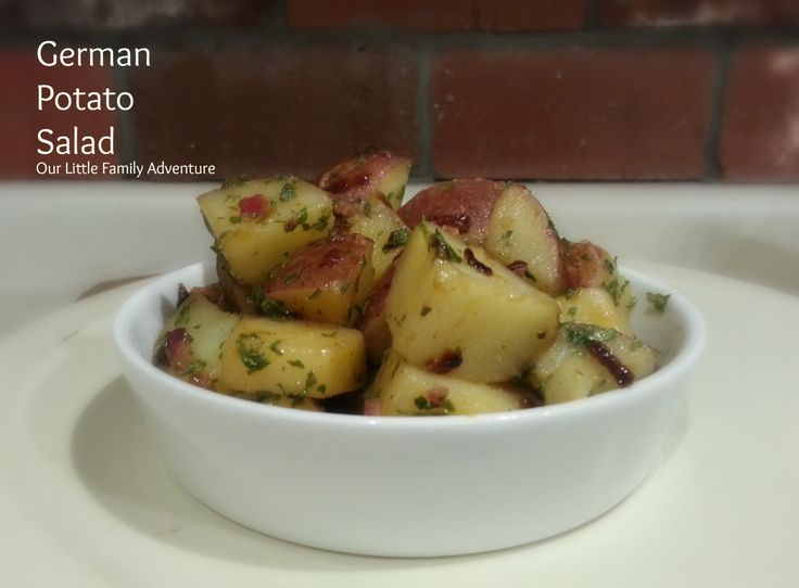 German Potato Salad | Recipes - SIDE DISHES | Pinterest