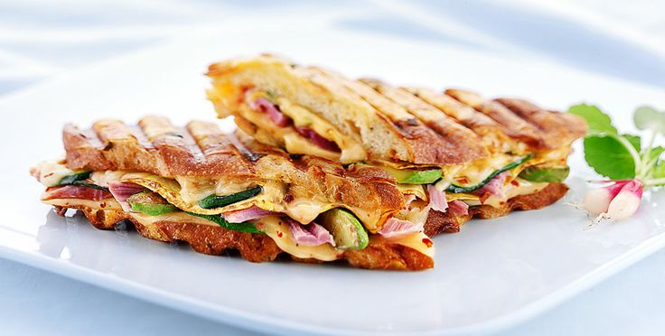 The Sommerset - Garden fresh with bacon and cheese!  Grilled Cheese Academy
