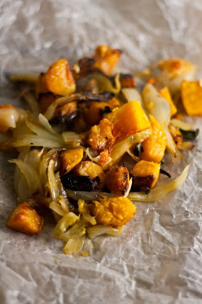 Hummingbird High: Butternut Squash and Caramelized Onion Galette