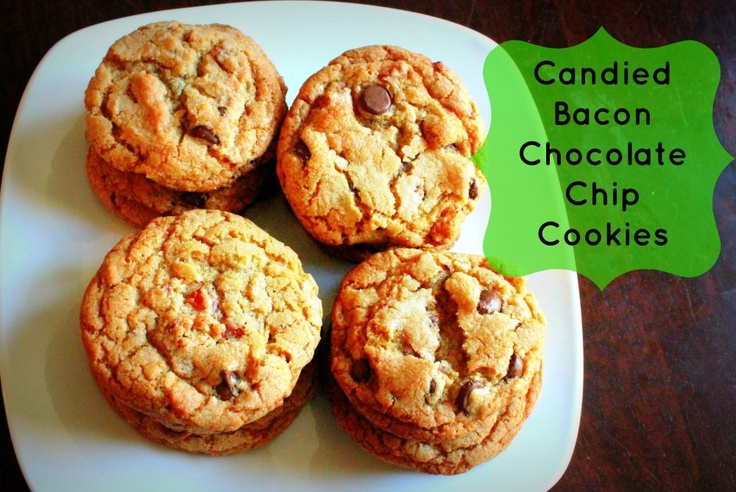 Candied Bacon Chocolate Chip Cookies | Favorite Blogger Recipes | Pin ...