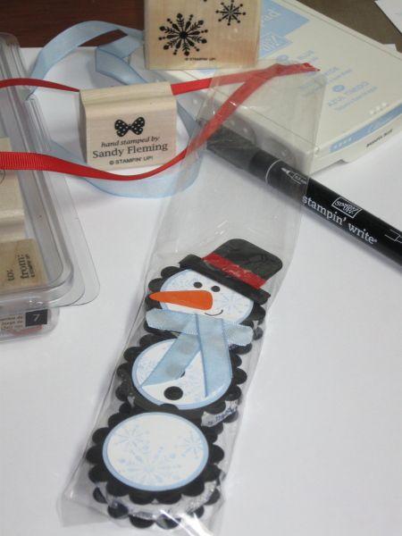 snowman York peppermint patties...cute idea