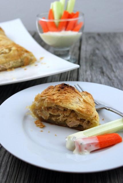 Buffalo Chicken Stromboli - Katies Cucina | Katies Cucina