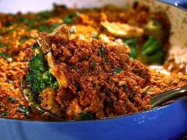Broccoli-Cheese Casserole Recipe : Aaron McCargo, Jr. : Recipes : Food ...
