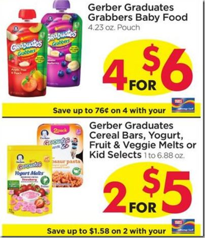 Gerber cereal coupons printable 2018