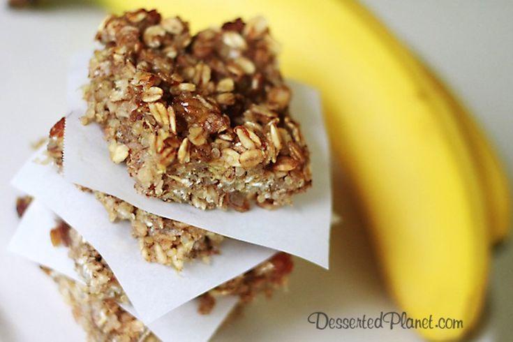 Banana Oat Quinoa Bars 2 | Eat me | Pinterest