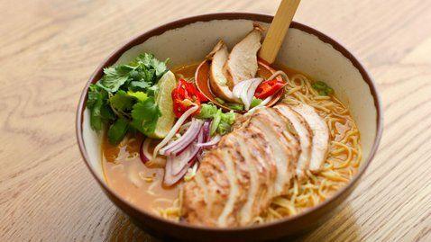 Wagamama chicken ramen - RTE Food | Food Glorious Food | Pinterest