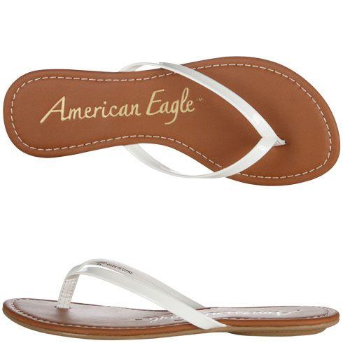 Womens American EagleWomen's Twinkle Flat Flip Flop, $9.99