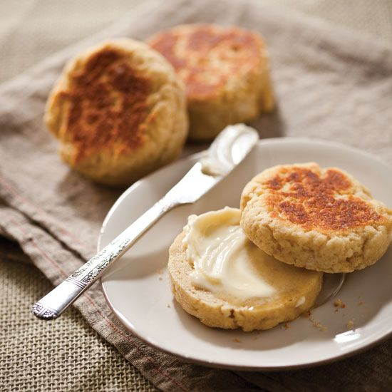 This gluten-free English muffin recipe takes no more time than the ...