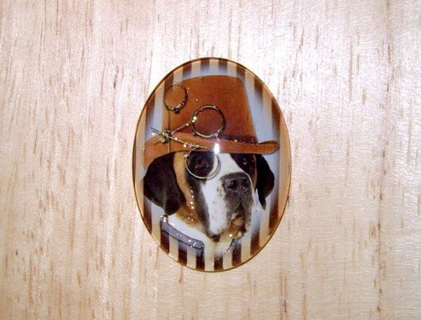 Steampunk Dog With Glitter Unset Handmade Art Bubble Cameo Cabochon ...: pinterest.com/pin/442830575833747183
