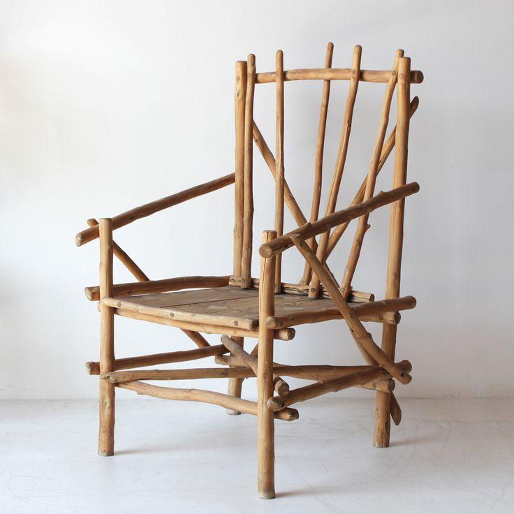 Rustic Branch Chair From Nickey Kehoe Nickey Kehoe Work