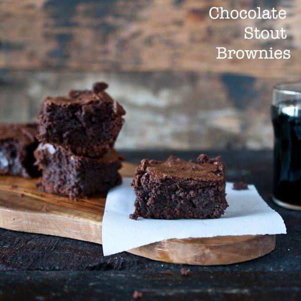 Chocolate Stout Brownies | BARZ - Just Brownies & Blondies | Pinterest