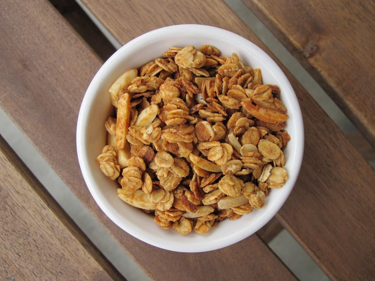 Peanut butter-honey granola | Sweet on Peanut Honey Pretzel | Pintere ...