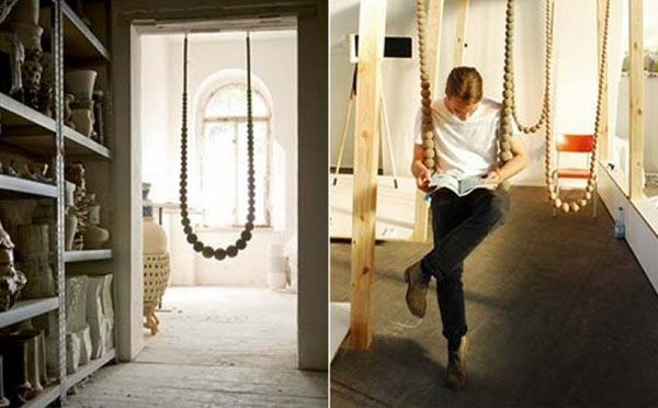 Fun Interior Decorating Ideas, Swing Seats by Svvving