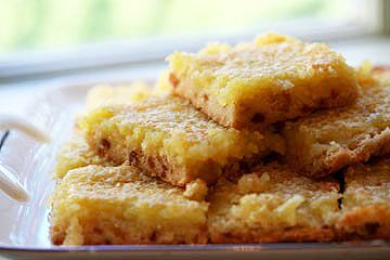 lemon bars? Try this delicious lemon bars recipe with candied ginger ...