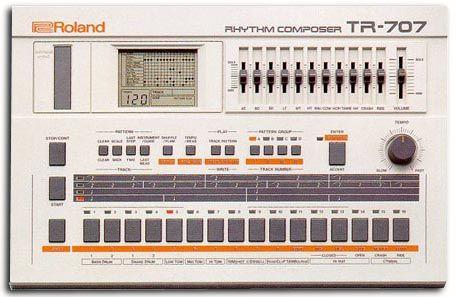 #Roland TR-707