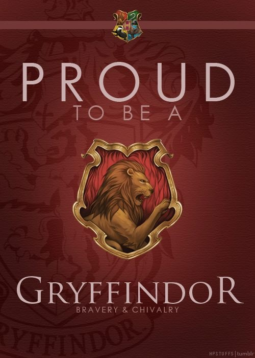 proud to be a gryffindor things i love pinterest. Black Bedroom Furniture Sets. Home Design Ideas