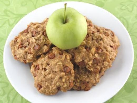 Apple Cinnamon Oatmeal Cookies | Desserts | Pinterest