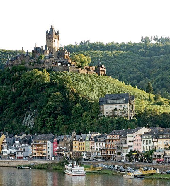 Cochem Germany  city images : cochem, germany reichsburg castle   Castles   Pinterest