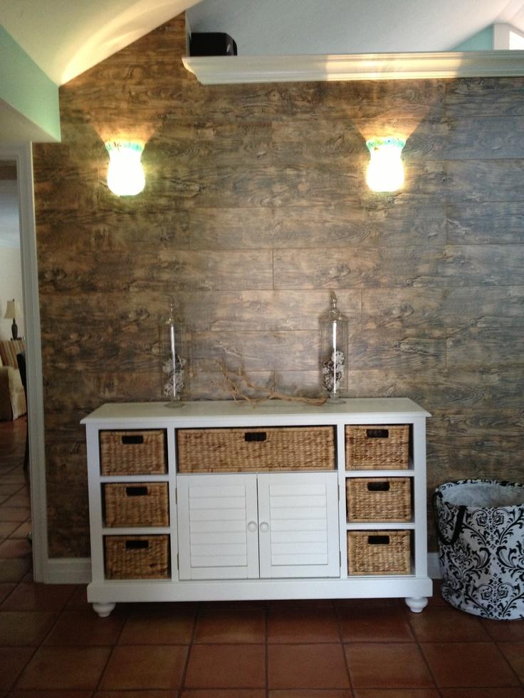 laminate floor wall my style pinterest. Black Bedroom Furniture Sets. Home Design Ideas