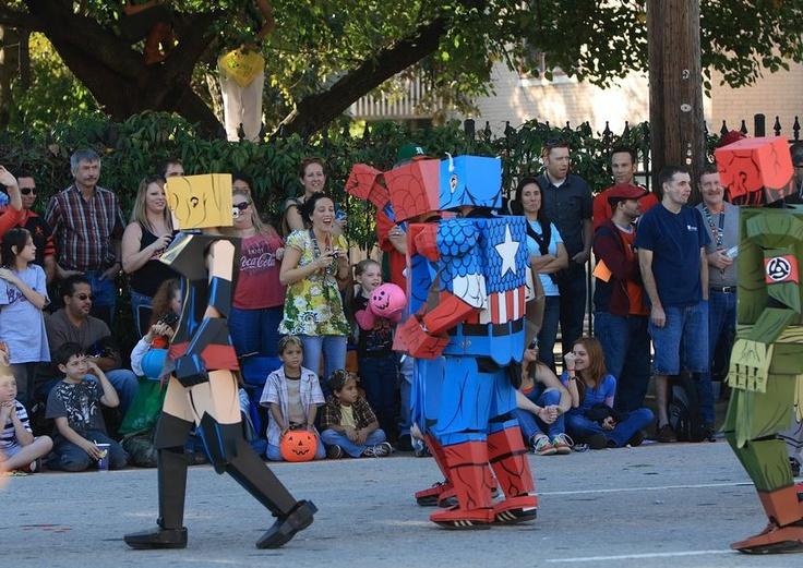 halloween parade nyc tips