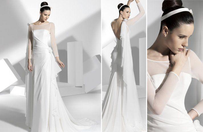 2013 wedding dress by Franc Sarabia