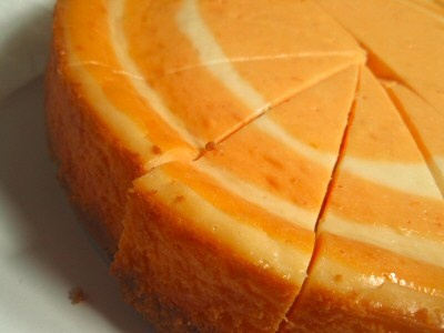 Heavenly Orange Cheesecake.. I've made this and it is amazing!