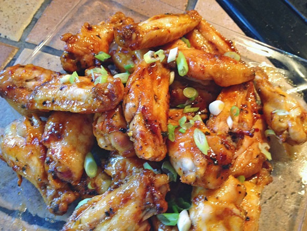Honey Sriracha Wings   delicious   Pinterest