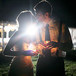 A pretty DIY farm wedding with rustic details captured by Sam Stroud Photography.