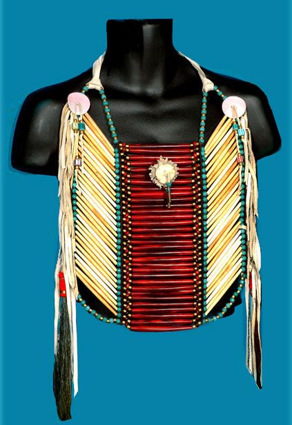 native american breastplate instructions