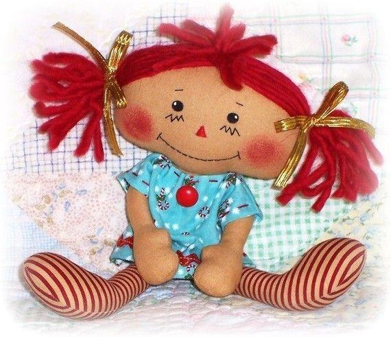 Малый Кукла шаблон PDF Rag Doll строчки по OhSewDollin, $ 9.00