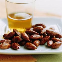 Tamari-and-Maple-Roasted Almonds | Recipe