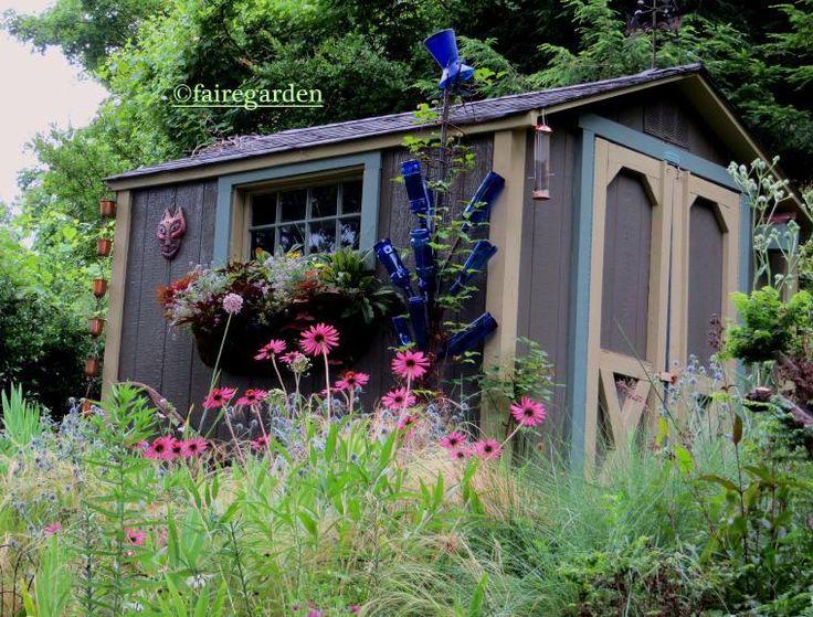 Garden shed Cottage Gardens Pinterest