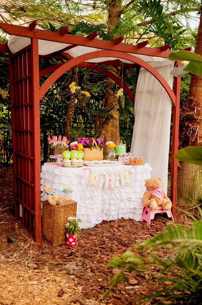 teddy bear picnic birthday party via kara 39 s party ideas
