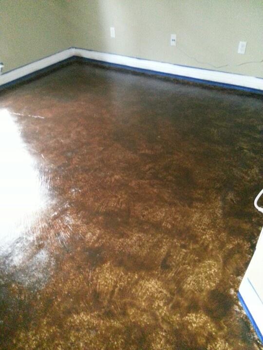 Behr concrete stain colors joy studio design gallery for Concrete floor stain colors