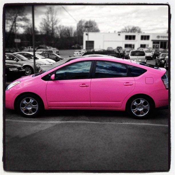 Why wouldn't you want a pink prius??